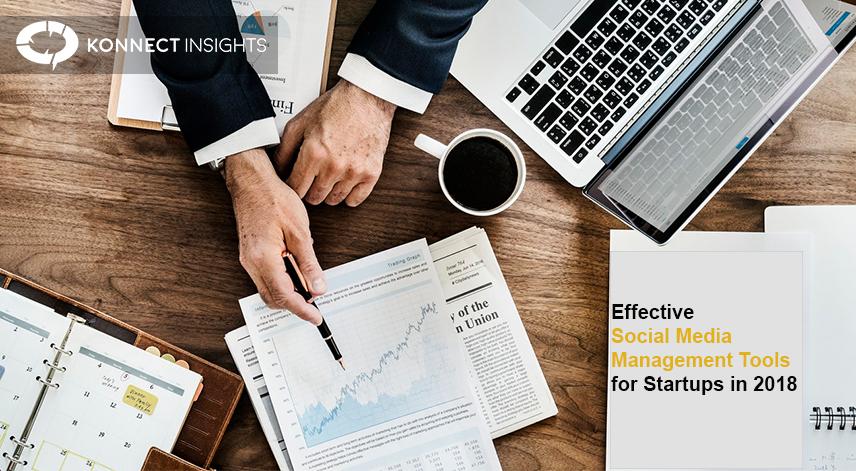 Social Media Management Tools for Startups- Konnect Insights